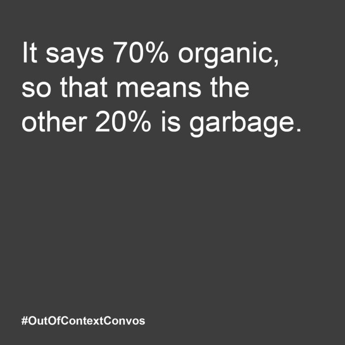 #OutOfContextConvos