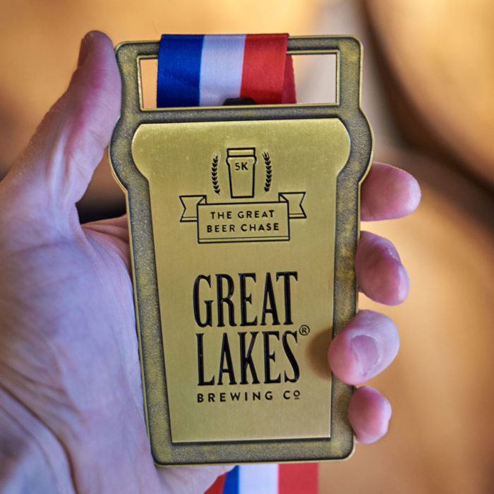 GLBC Great Beer Chase 5K Race Medals